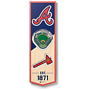 You The Fan Atlanta Braves 6''x19'' 3-D Banner