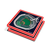You the Fan Atlanta Braves Stadium View Coaster Set