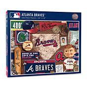 You The Fan Atlanta Braves Retro Series 500-Piece Puzzle