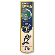 You The Fan Milwaukee Brewers 8''x32'' 3-D Banner