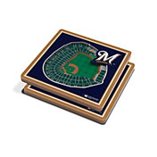 You the Fan Milwaukee Brewers Stadium View Coaster Set