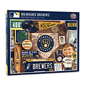 You The Fan Milwaukee Brewers Retro Series 500-Piece Puzzle