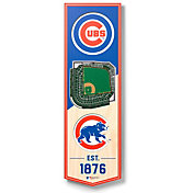 You The Fan Chicago Cubs 6''x19'' 3-D Banner