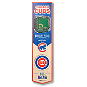 You The Fan Chicago Cubs 8''x32'' 3-D Banner