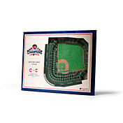 You the Fan Chicago Cubs Stadium View Coaster Set