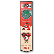 You The Fan Arizona Diamondbacks 8''x32'' 3-D Banner