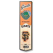 You The Fan San Francisco Giants 8''x32'' 3-D Banner
