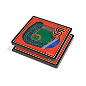 You the Fan San Francisco Giants Stadium View Coaster Set