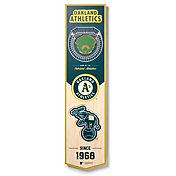 You The Fan Oakland Athletics 8''x32'' 3-D Banner