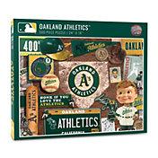 You The Fan Oakland Athletics Retro Series 500-Piece Puzzle