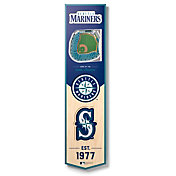 You The Fan Seattle Mariners 8''x32'' 3-D Banner