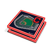 You the Fan Cleveland Indians Stadium View Coaster Set