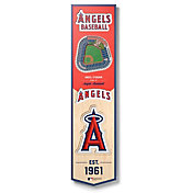 You The Fan Los Angeles Angels 8''x32'' 3-D Banner