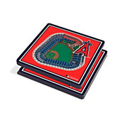 You the Fan Los Angeles Angels Stadium View Coaster Set
