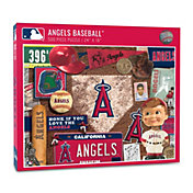 You The Fan Los Angeles Angels Retro Series 500-Piece Puzzle