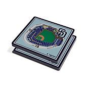 You the Fan San Diego Padres Stadium View Coaster Set