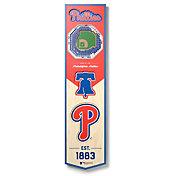 You The Fan Philadelphia Phillies 8''x32'' 3-D Banner