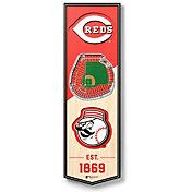 You The Fan Cincinnati Reds 6''x19'' 3-D Banner