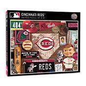 You The Fan Cincinnati Reds Retro Series 500-Piece Puzzle