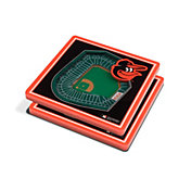 You the Fan Baltimore Orioles Stadium View Coaster Set