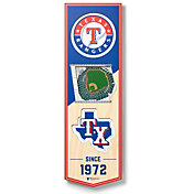 You The Fan Texas Rangers 6''x19'' 3-D Banner