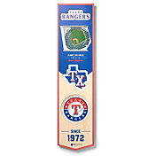 You The Fan Texas Rangers 8''x32'' 3-D Banner