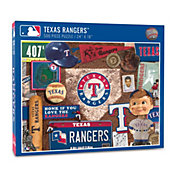 You The Fan Texas Rangers Retro Series 500-Piece Puzzle