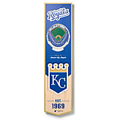 You The Fan Kansas City Royals 8''x32'' 3-D Banner