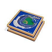 You the Fan Kansas City Royals Stadium View Coaster Set
