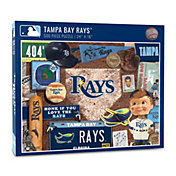 You The Fan Tampa Bay Rays Retro Series 500-Piece Puzzle