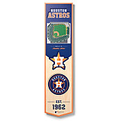 You The Fan Houston Astros 8''x32'' 3-D Banner