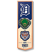 You The Fan Detroit Tigers 6''x19'' 3-D Banner