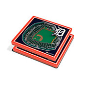 You the Fan Detroit Tigers Stadium View Coaster Set