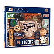 You The Fan Detroit Tigers Retro Series 500-Piece Puzzle