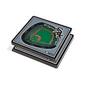You the Fan Chicago White Sox Stadium View Coaster Set