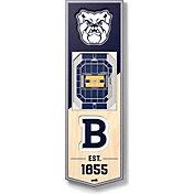 """You The Fan Butler Bulldogs 6""""x19"""" 3-D Banner"""