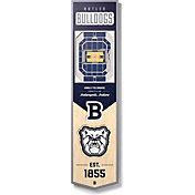 """You The Fan Butler Bulldogs 8""""x32"""" 3-D Banner"""