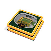 You the Fan Baylor Bears Stadium View Coaster Set