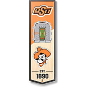 """You The Fan Oklahoma State Cowboys 6""""x19"""" 3-D Banner"""