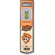 """You The Fan Oklahoma State Cowboys 8""""x32"""" 3-D Banner"""