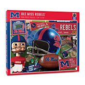 You The Fan Ole Miss Rebels Retro Series 500-Piece Puzzle