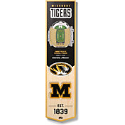 """You The Fan Missouri Tigers 8""""x32"""" 3-D Banner"""