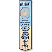 "You The Fan North Carolina Tar Heels 8""x32"" 3-D Banner"