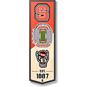 """You The Fan NC State Wolfpack 6""""x19"""" 3-D Banner"""
