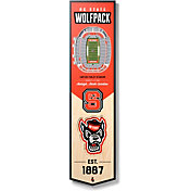 """You The Fan NC State Wolfpack 8""""x32"""" 3-D Banner"""
