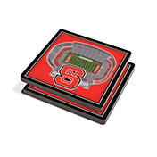 You the Fan NC State Wolfpack Stadium View Coaster Set