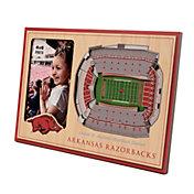 You the Fan Arkansas Razorbacks Stadium View Coaster Set