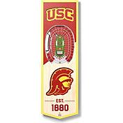 "You The Fan USC Trojans 6""x19"" 3-D Banner"