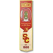 "You The Fan USC Trojans 8""x32"" 3-D Banner"