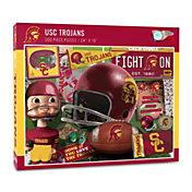 You The Fan USC Trojans Retro Series 500-Piece Puzzle